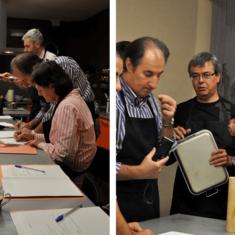 cursos de cocina en Sabores