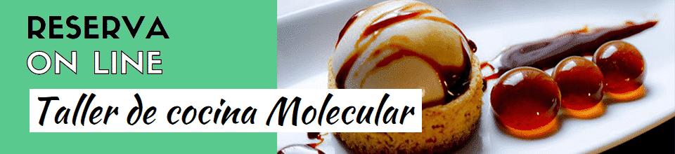 Taller de cocina molecular