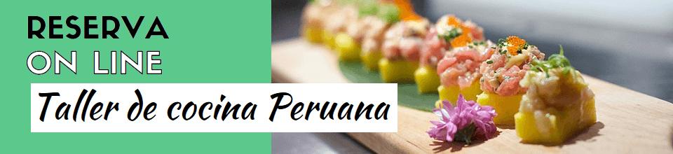 Curso de cocina peruana