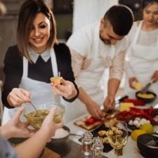 Sabores taller de cocina
